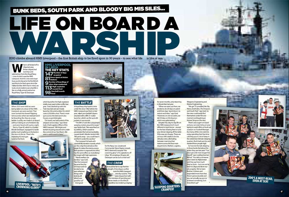 hms liverpool zoo feature