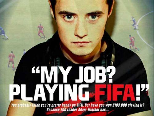 fifa professional, adam winster