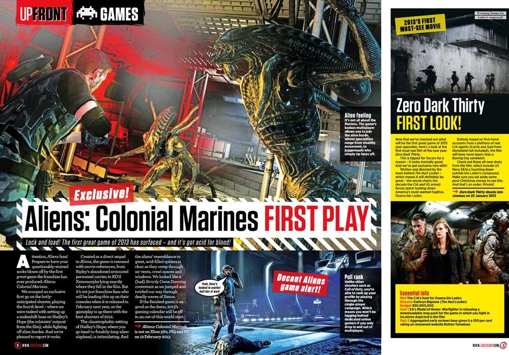 aliens colonial marines zoo